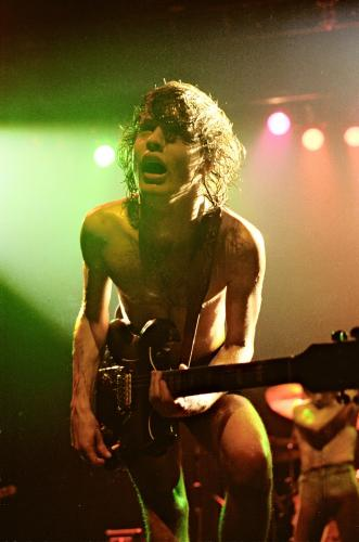 Coventry 8th November 1978 - Angus Young on stage with AC/DC at the Coventry Theatre.Coventry 8th November 1978- Angus Young on stage with AC/DC at the Coventry Theatre.