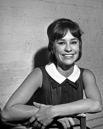 Jazz singer Astrud Gilberto poses for a portrait at Birdland on the day they recorded the Stan Getz live album Getz Au Go Go.