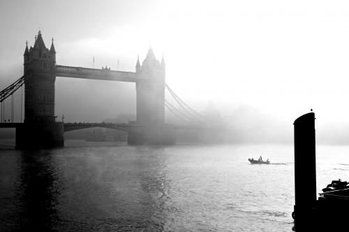 London's Tower Bridge photograpghed by Barbara Chandler in 2011 Sonic Editions