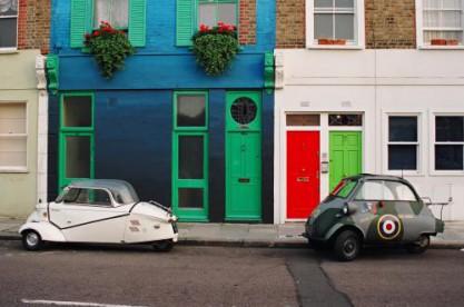 Bubble cars in London