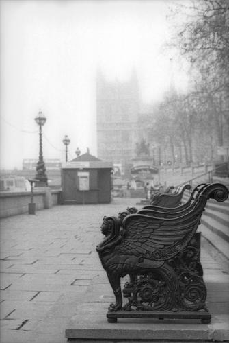 Westminster Embankment in London