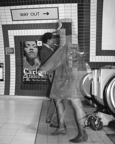 I went to court to advocate for the musicians at Piccadilly Circus when it was illegal to busk on the Underground. They became used to me hovering around. A busker and a commuter