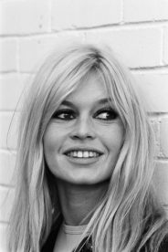 Brigitte Bardot photographed at London Zoo in 1966.