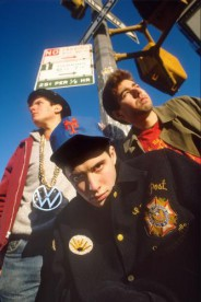 The Beastie Boys photographed in the West Village