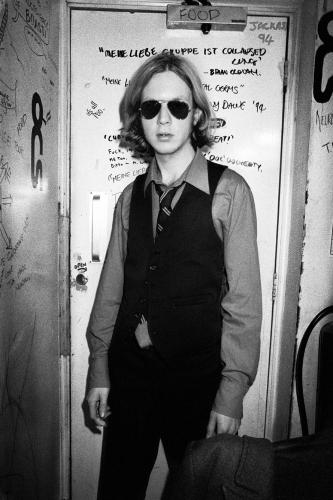 Beck photographed in 1995 by Chris Floyd.