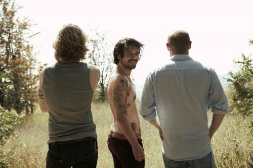 "Biffy Clyro in Los Angeles for the recording of ""Only Revolutions"" at Ocean Way Studios where Frank Sinatra recorded ""My Way""."