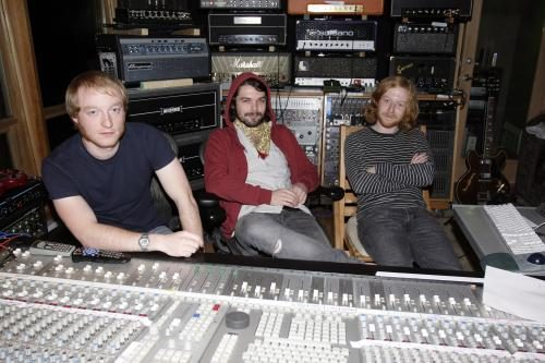 Biffy Clyro at Farm Studio