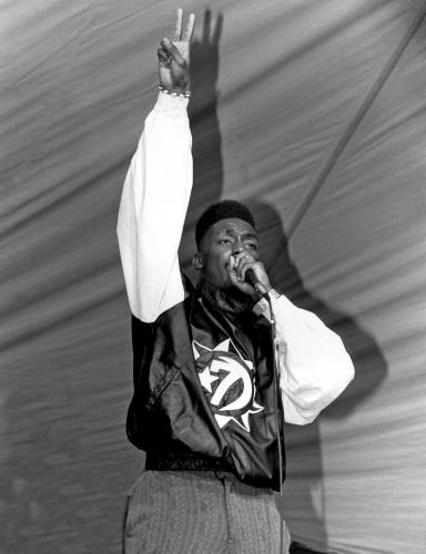 Rapper Big Daddy Kane performs at Mosque Maryam in Chicago