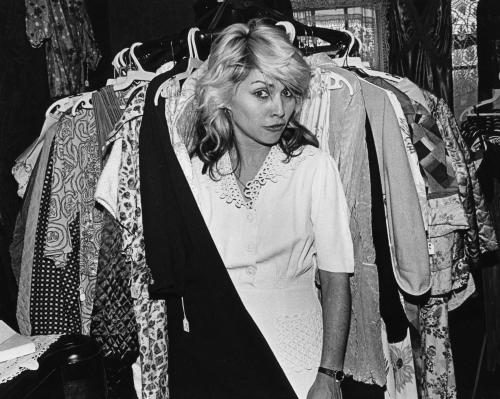 Debbie Harry photographed by Janet Macoska.