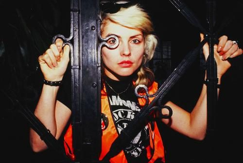 Debbie Harry of Blondie photographed by Janet Macoska in 1978.