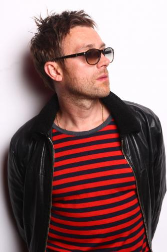 Damon Albarn of Gorillaz photographed in 2010.