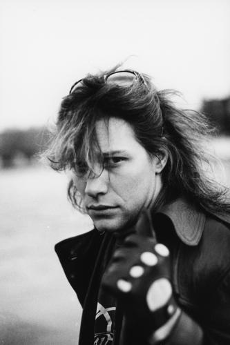 Jon Bon Jovi photographed in Stockholm