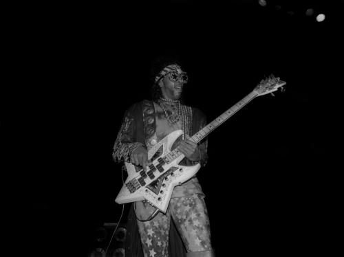 Singer Bootsy Collins performs at the Regal Theater in Chicago
