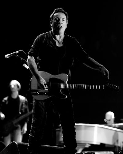 Bruce Springsteen at Glastonbury 2009.