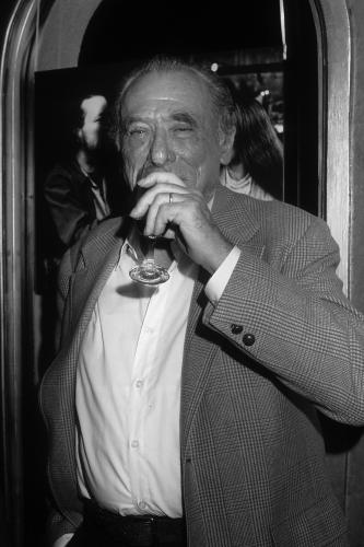 Charles Bukowski poses for a portrait in Los Angeles
