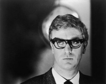 British actor Michael Caine stars as secret agent Harry Palmer in 'The Ipcress File'