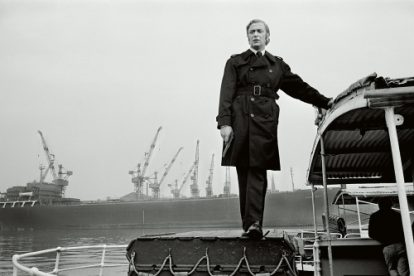 English actor Michael Caine stars in the film 'Get Carter', 1970.