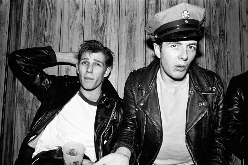 Paul Simonon and Joe Strummer of The Clash