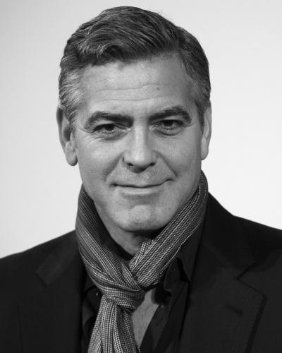 "George Clooney attends ""The Monuments Men"" photocall at the National Gallery on February 11"