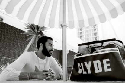 "Walter ""Clyde"" Frazier photographed in Long Beach, Cali- fornia."