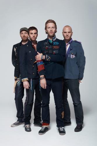 Coldplay photographed for the NME by Tom Oxley