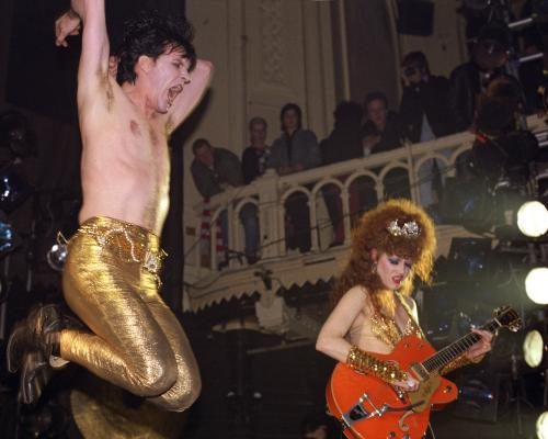 The Cramps performing in Amsterdam.