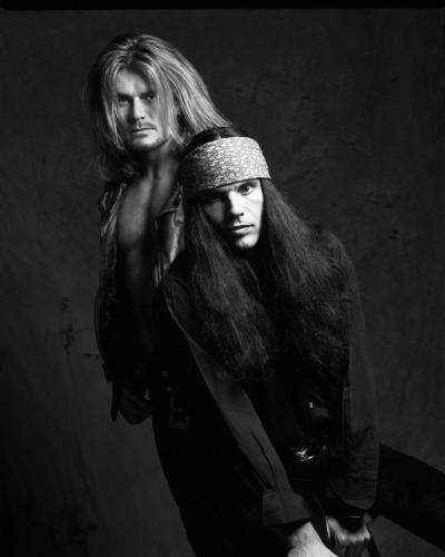 Ian Astbury And Billy Duffy Of The Cult London 1991