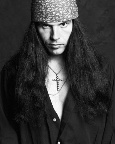 Ian Astbury of The Cult photographed in London