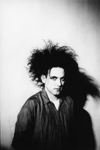 Robert Smith of The Cure photographed in London