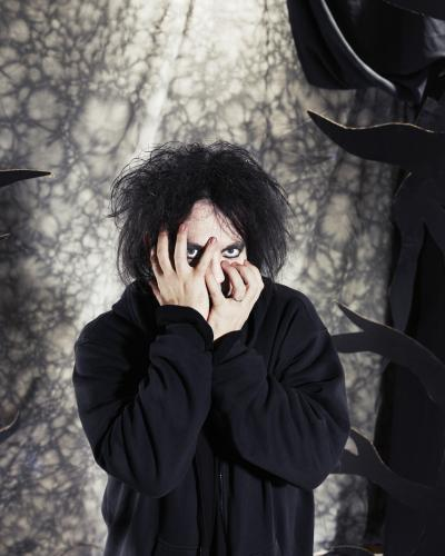 Robert Smith of The Cure photographed for the NME by Dean Chalkley