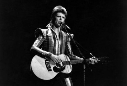 David Bowie performs his final concert as Ziggy Stardust at the Hammersmith Odeon