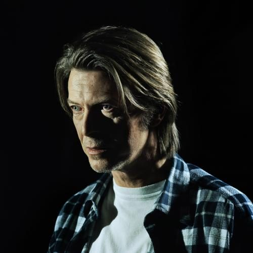 David Bowie photographed by Chris Floyd at the Chung King House of Metal