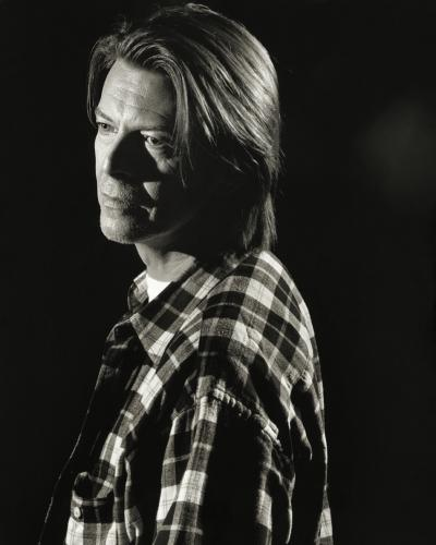 David Bowie photographed by Chris Floyd.
