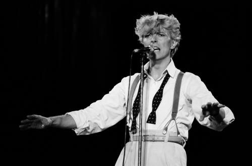 Rotterdam 25 June 1983 - David Bowie played at the Feyenoord football stadium on the Serious Moonlight tour.