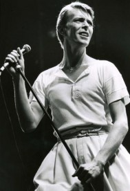 Bowie in 1978