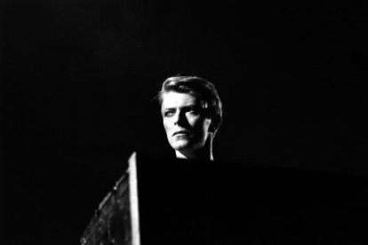 David Bowie on stage at Earls Court