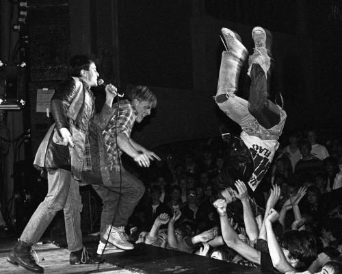 The Dead Kennedys performing live in Seattle.