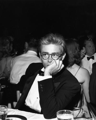 James Dean attends the Thalian Ball on August 29 1955 at Ciro's nightclub in Los Angeles