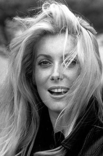Catherine Deneuve photographed in 1968 Sonic Editions print