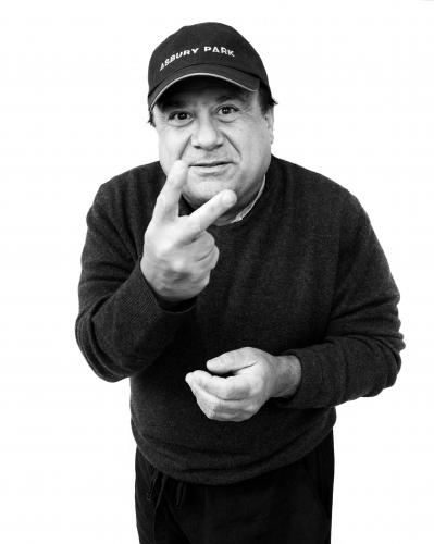 Danny DeVito shot by Chris Floyd.