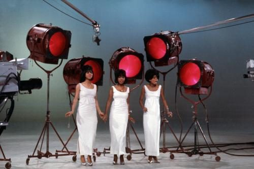Motown group The Supremes (L-R Florence Ballard