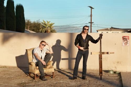 The Eagles of Death Metal photographed for the NME by Tom Oxley