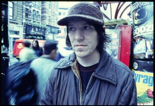 Elliott Smith photographed for the NME by Andy Willsher.