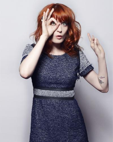 Florence Welch of Florence and the Machine shot by Jay Brooks