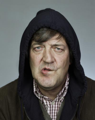 Stephen Fry photographed by Chris Floyd.