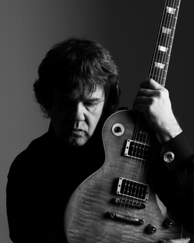 Gary Moore photographed in London 2007.