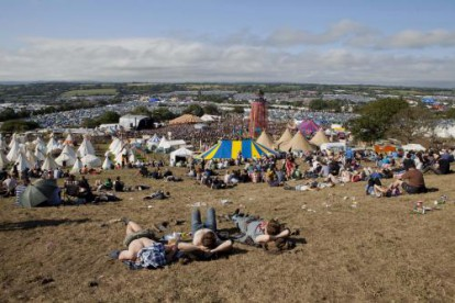 Glastonbury 2011.
