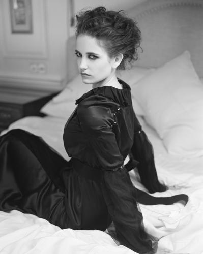 Actress Eva Green photographed by Chris Floyd.