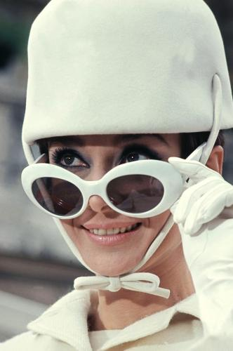 Audrey Hepburn photographed in 1966 Sonic Editions print