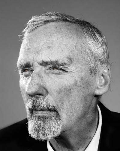 Dennis Hopper photographed by Chris Floyd in 2008.